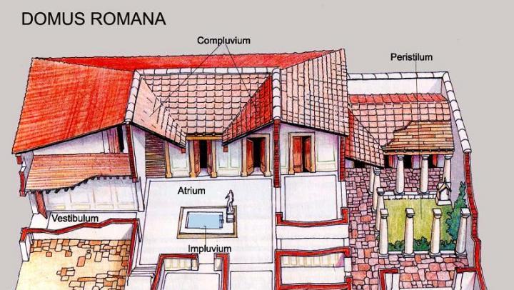 A casa di domizia alla scoperta di una domus romana for Casas griegas antiguas